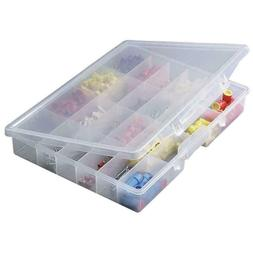 1 ~ 24 Compartments Plastic Jewelry Bead crafts Organizer Co