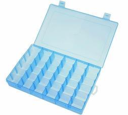 36 Grid Box Storage Organizer Case Display Collection w/ Adj