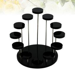 Acrylic Ring Stand Rotating Ring Display Rack Holder Jewelri