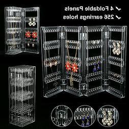 Earrings Ear Studs Necklace Jewelry Display Rack Stand Organ