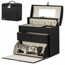 Homde Jewelry Display Box for Men Women Necklace Sunglasses
