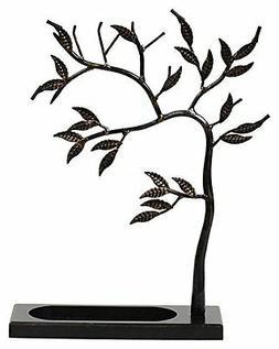 Geff House Jewelry Tree Organizer Black