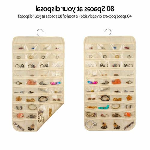 80 Jewelry Organizer Earring Closet Display