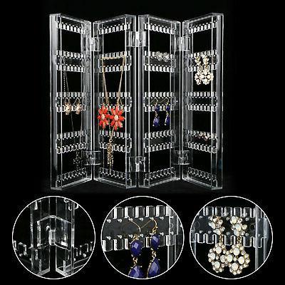 Clear Acrylic Jewelry Organizer Case