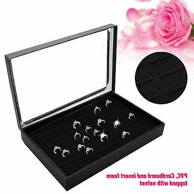 100 Jewelry Case Tray Show Holder