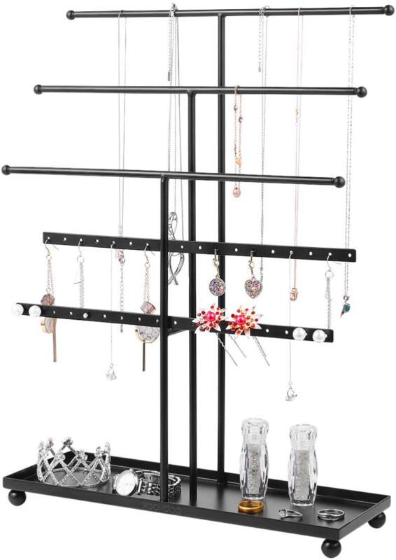 Holder Jewelry Organizer Bracelet Hanger Tower  Necklaces Br