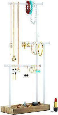 SRIWATANA Jewelry Organizer Display Extra Tall Necklace Hold
