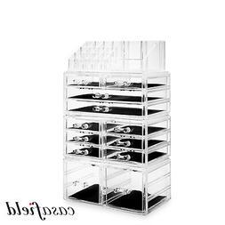 Large Cosmetic Makeup Organizer Jewelry Drawer Storage Box A
