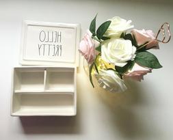 New Rae Dunn Organizer/Jewelry box Brand New Home Storage