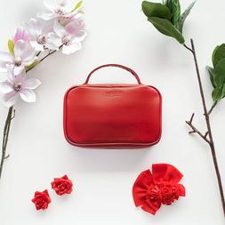 Henry Antwerp Red Travel Jewelry Organizer Bag