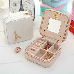 Travel Mini Jewelry Organizer Paris Tower Gift Box Easy Port