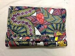 TRAVEL ORGANIZER MAKEUP Jewelry BAG Folding HANGUP GEO ARTSY